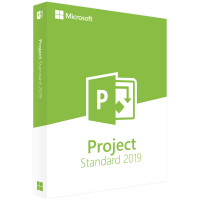 Microsoft Project Standard 2019 Win Portuguese Medialess