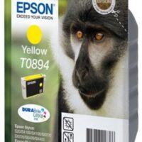 Tinteiro EPSON T0894 Amarelo - Stylus S2x, SX1xx/2xx/4xx & Stylus Office BX300F