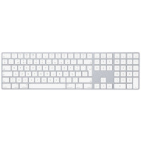Apple Magic Keyboard with Numeric Keypad PT Branco- MQ052PO/ A