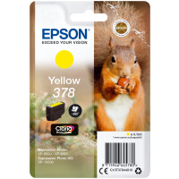 Tinteiro EPSON Yellow 378 Claria Photo HD Ink - C13T37844010