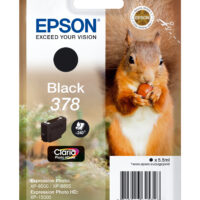 Tinteiro EPSON 378 Preto Claria Photo HD XP-85xx - C13T37814010
