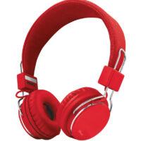 Auscultadores TRUST ZIVA Foldable P/ Smartphone e Tablet RED - 21822