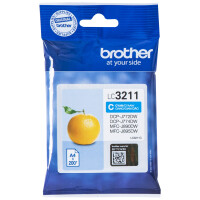 Tinteiro BROTHER LC3211C Ciano - DCP-J772DW/ 774DW, MFC-890DW/ 895DW
