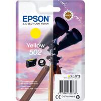 Tinteiro EPSON 502 Yellow - C13T02V44010