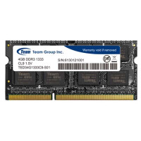 Dimm SO Team Group 4GB DDR3 1333MHz CL9 1.5V - TED34G1333C9-S01