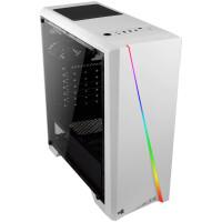 Caixa AEROCOOL CYLON ATX RGB Lighting Full Side Window, white - CYLONW