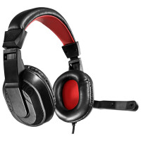 Auscultadores MARS Gaming MRH0 c/ mic, 40mm Neodymium, Ultra-Bass, 3.5mm Jack