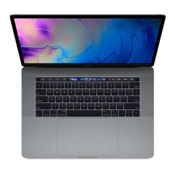 """Apple MacBook Pro 15"""" with Touch Bar: 2.2GHz 6-core 8th-Gen. IntelCorei7 256GB - Space Grey"""