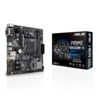 MB ASUS AMD B450 SKT AM4 2xDDR4 VGA/DVI-D mATX -PRIME B450M-K