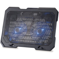 "Base Conceptronic Notebook Cooling Pad, Fits up to 15.6"", 2 Fans -THANA 01B"