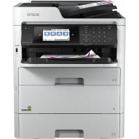 Impressora EPSON Multifunções WorkForce Pro RIPS WF-C579RDTWF - A4