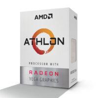 Processador AMD Athlon 200GE 2Cores 3.2GHz 1/4Mb c/grafica Radeon Vega 3