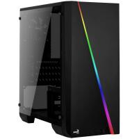 Caixa AEROCOOL MINI MICRO-ATX, DYNAMIC RGB LIGHTING 13 MODES, USB 3.0, 80MM FAN - CYLONMINI