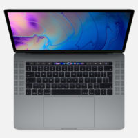 "APPLE MacBook Pro Touch Bar 15"" 2.6GHz HC i7 16GB 256GB Radeon Pro 555X Space Grey"