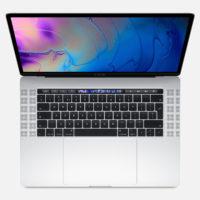 "APPLE MacBook Pro Touch Bar 15"" 2.6GHz HC i7 16GB 256GB Radeon Pro 555X Silver"