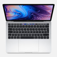 "APPLE MacBook Pro Touch Bar 13"" 2.4GHz QC i5 8GB 256GB Intel Iris Plus Graphics 655 Silver"