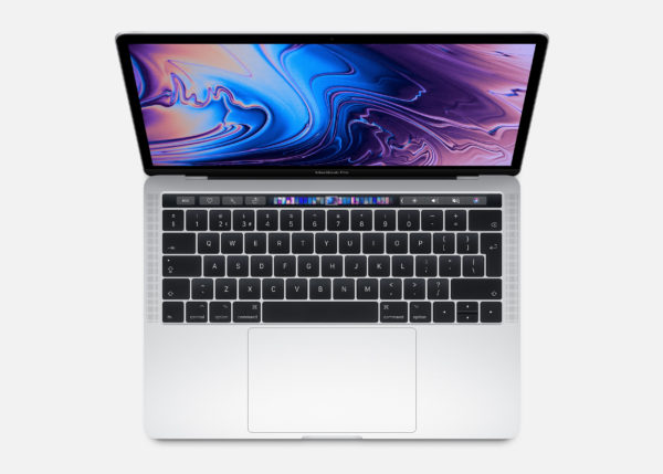 "APPLE MacBook Pro Touch Bar 13"" 2.4GHz QC i5 8GB 256GB Intel Iris Plus Graphics 655 Silver"