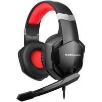 Auscultadores MARS Gaming MHX c/ mic, 50mm, SuperBass, Aircomfort, Multiplatform