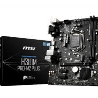 MB MSI H310M PRO SKT 1151 2xDDR4 HDMI/VGA/DVI-D ATX - H310M PRO-M2 PLUS