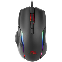Rato MARS GAMING 12400 DPI PMW3327PRO RGB, Side Roller Button - MMX