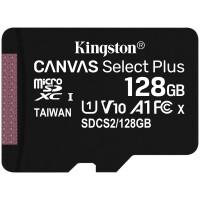 MicroSD Kingston Canvas Select Plus 128GB class10 UHS-I SDHC(100MB/ s-85MB/ s)