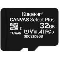 MicroSD Kingston Canvas Select Plus 32GB class10 UHS-I SDHC(100MB/ s)