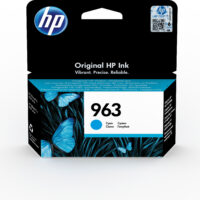 Tinteiro HP 963 Ciano - OfficeJet Pro Series 9010/ 9020