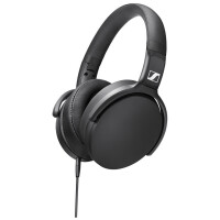 Auscultadores SENNHEISER Over-Ear 3.5mm, 20000Hz, 120Db, Black