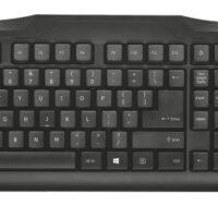 Teclado TRUST ClassicLine Keyboard PT USB - 20624