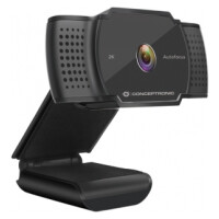 WebCam CONCEPTRONIC 2K Super HD Autofocus with Mic. - AMDIS02B