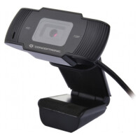 Webcam CONCEPTRONIC 720P HD / 1080P (interpolated) with Microphone - AMDIS03B