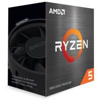 Processador AMD Ryzen 5 5600X 6 Cores 3.7GHz 3/ 32Mb AM4