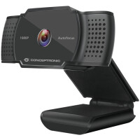 WebCam CONCEPTRONIC AMDIS06B 1080P/ 2K interpolated  AUTOFOCUS WITH MICROPHONE