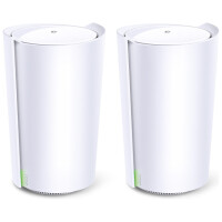 Router TP-Link AX6600 Whole Home Mesh Wi-Fi Deco X90 (2-pack)