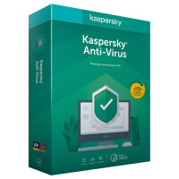 Software Kaspersky Anti-Virus 2020 3 User Renewal 1 Ano BOX