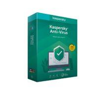 Software Kaspersky Anti-Virus 2020 3 User Renewal 1 Ano BOX