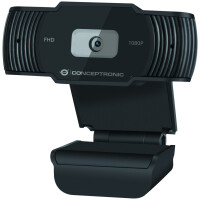 Webcam CONCEPTRONIC 1080P Full HD with Microphone - AMDIS04
