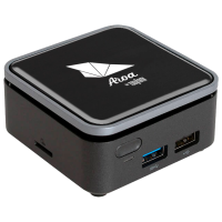 Mini DT TSUNAMI AROA Q2 N4000 4GB eMMC-64GB W10Pro 2YrGar