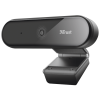 WebCam TRUST TYRO Full HD - Black/ Silver - 23637