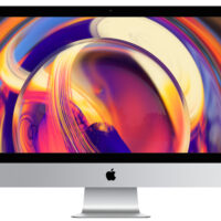 APPLE iMac 27P Ret 5K: 3.1GHz 6core i5, 8GB, 1TB, Radeon Pro 575X c/ 4GB