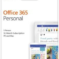 Office 365 Personal Portuguese EuroZone Subscr 1YR Medialess P4
