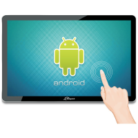 """POS ZONERICH Android Touch Screen 21, 5""""FHD/ Quad core/ 2GB/ 16GB/ WIFI/ Bluetooth c/ suporte vesa"""