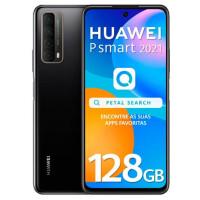 Huawei P Smart 2021 4GB/128GB Dual Sim - Preto