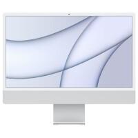 APPLE iMac 24P Retina 4, 5K - Apple M1 8c CPU/ 7c GPU, 8GB, 256GB, Ethernet - Silver