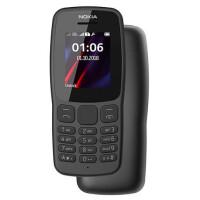 Nokia 106 Dual Sim - Preto
